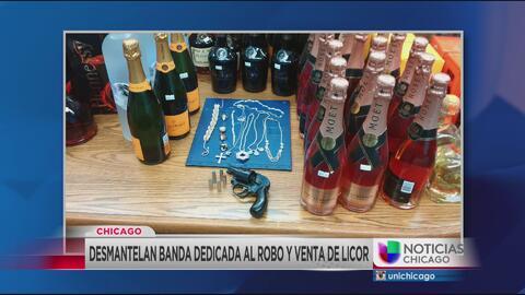 Desmantelan banda dedicada al robo y venta de licor