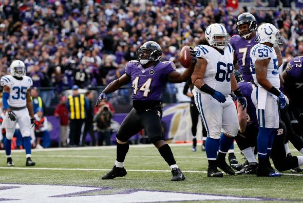 Los Colts no pudieron vencer a los Ravens y cayeron con marcador de 24-9.