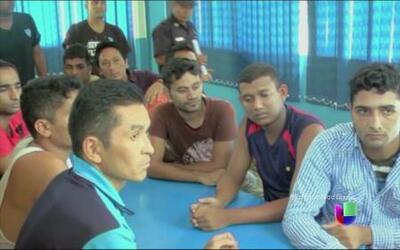 Los migrantes asiáticos siguen la ruta de los centroamericanos