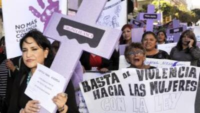 Afuera del parlamento exigieron al Estado nicaragüense asumir su respons...