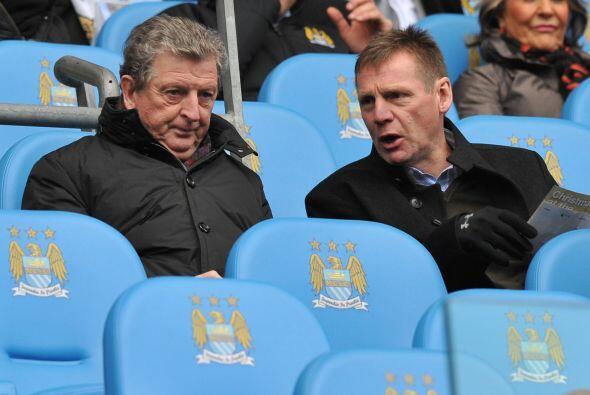 El propio entrenador de la selección inglesa, Roy Hodgson, quiso presenc...