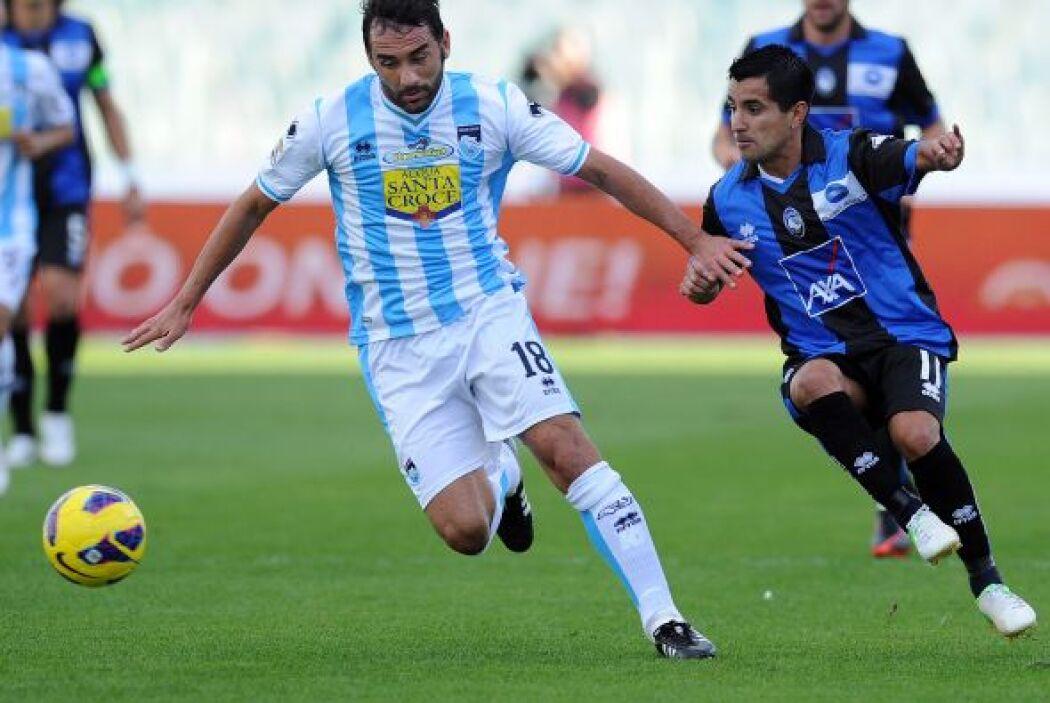 El argentino Maxi Moralez es de los más pequeños de la lista con su 1.60...