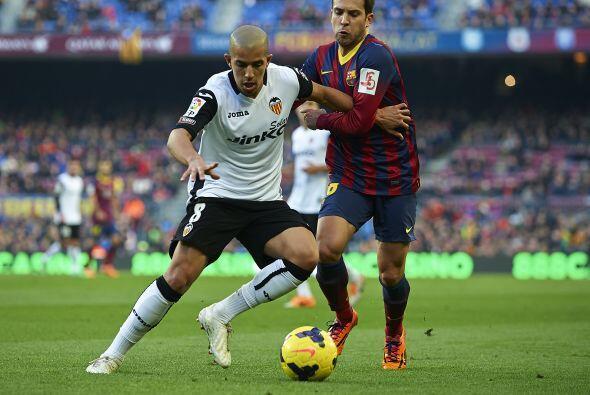 El Valencia se encerró atrá para evitar el vendaval blaugr...