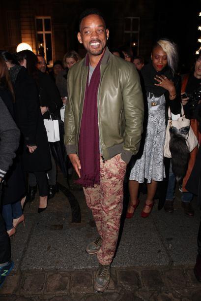 Otro famoso 'fashionista' que no se pierde este semana es Will Smith. Co...