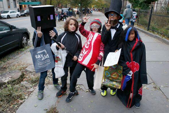 Este año seguro tus hijos querrán tener el mejor disfraz para Halloween...