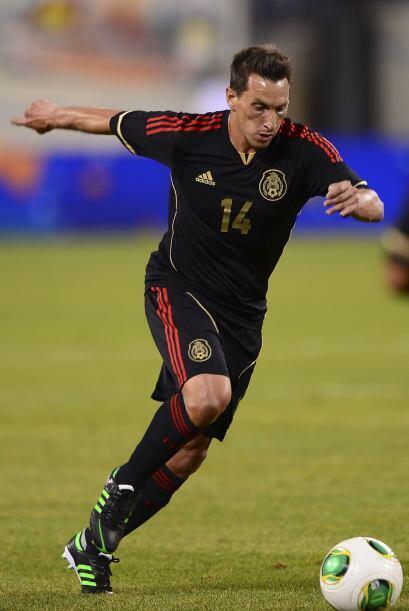 Ese día Christian Giménez hizo su debut con la playera de la Selección M...