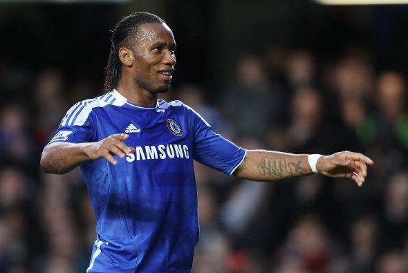 El marfileño ejecutó de manera perfecta el penal y puso a los 'Blues' ar...