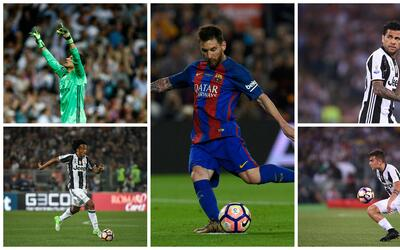Messi, Dybala, Dani Alves, Cuadrado y Keylor, en el once ideal de latino...