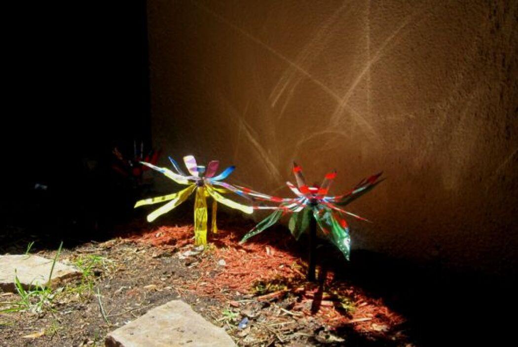 El proyecto fue dirigido por la maestra de arte Marlene Martínez, que co...