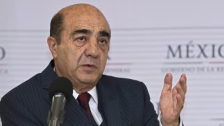 El ex fiscal general de México, Jesús Murillo Karam