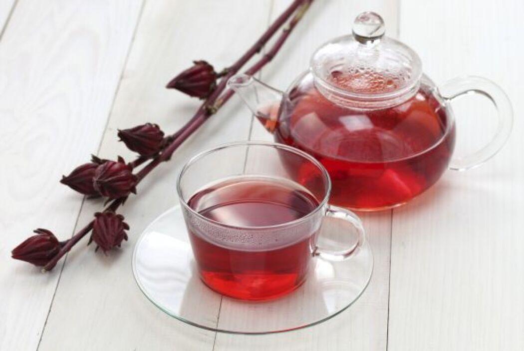 El té verde y algunas bayas son clave por su alto contenido en catequina...