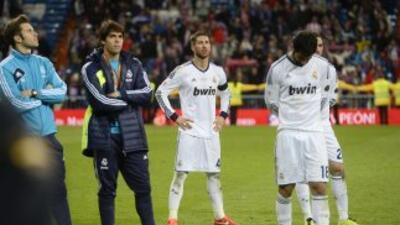 Sergio Ramos lamentó la derrota en la Copa del Rey.