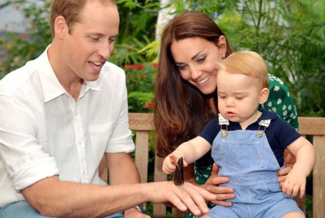 El hijo de los duques de Cambridge, el príncipe George, nos regaló estas...