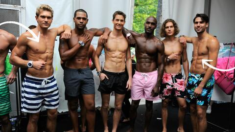 Modelos que protagonizaron el Miami Swim Week.