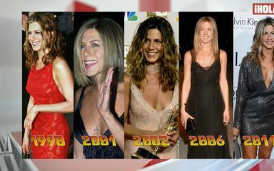 La moda de Jennifer Aniston a través de los años