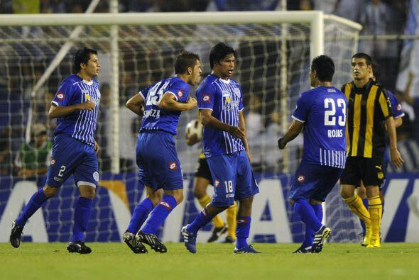 Cuando Godoy Cruz empató el juego con el gol de Rubén Ram&...