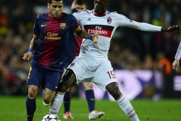 Luego del gol el Barcelona vivió 10 minuitos de acoso al arco rival.