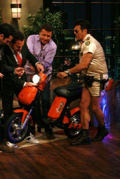 Para andar en moto no hay dos como él, pues además de hace...
