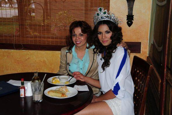 Después de la estricta dieta que Marisela mantuvo durante la competencia...