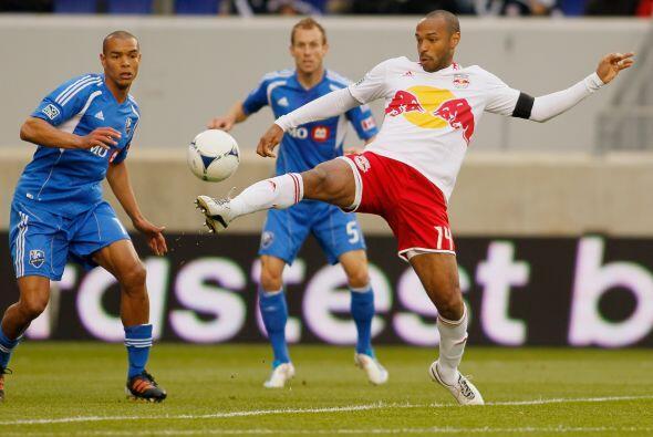 Thierry Henry se ha destapado con goles con los Red Bulls de Nueva York.