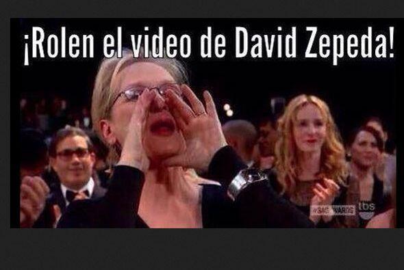 Llovieron memes como éste, con Meryl Streep gritando en el Oscar,...
