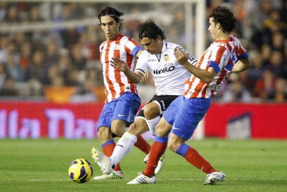 En el último partido de la jornada el Valencia recibió al Atlético de Ma...