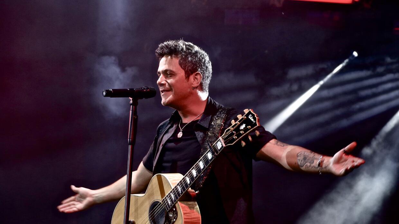 Así se entregó Sanz en este concierto en su tierra.