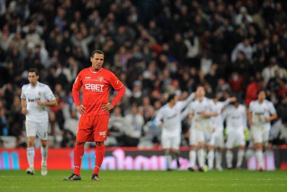 Sevilla ya sentía la derrota entre sus jugadores.