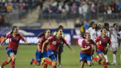 Las ticas lograron clasificar por primera vez a un Mundial femenil
