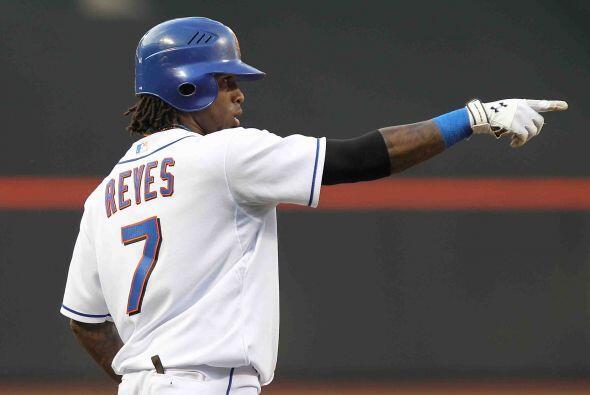 El dominicano José Reyes, short stop de los Mets y otro llamado por la l...