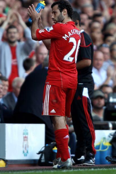 Javier Mascherano salió en la parte complementaria y sigue siendo...
