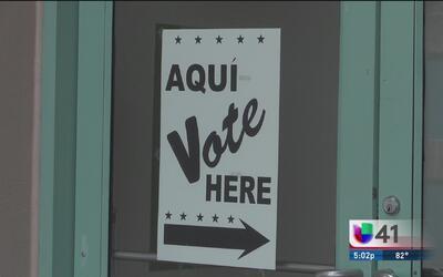 Comienza el periodo de votación temprana para elegir al nuevo alcalde de...