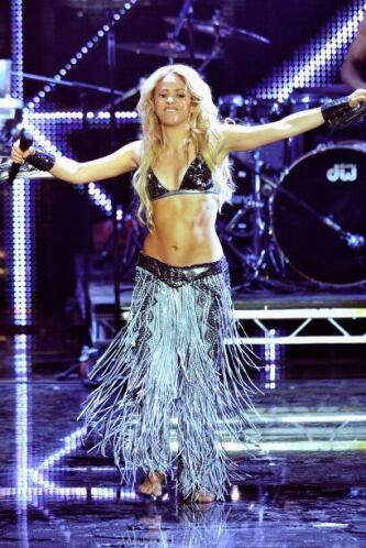 ¡Gracias Shakira! Porque esa cintura y ese abdomen le sirvió a miles de...