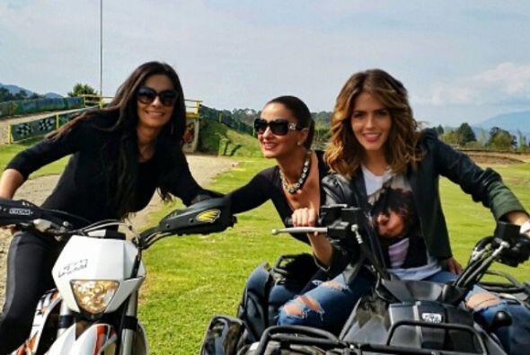 Algunas chicas como Claudia Álvarez, Mariana Seoane y Ana Brenda Contrer...