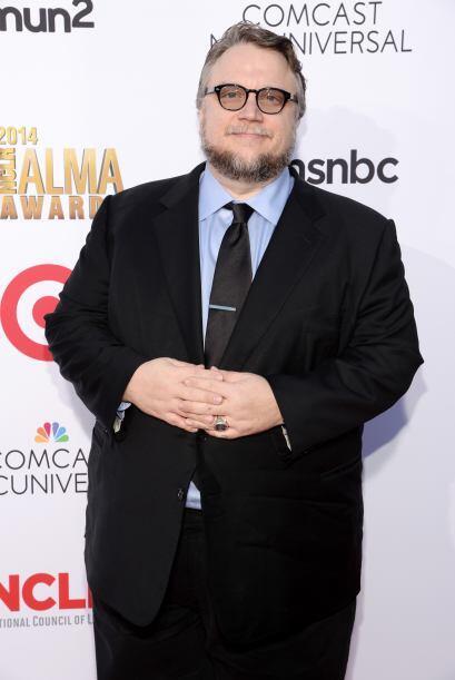 El director Guillermo del Toro era uno de los más esperados de la noche.