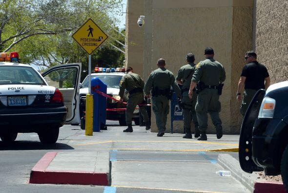 El subjefe de la policía del condado Clark, Kevin McMahill, dijo en una...