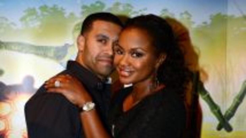 Nida Apollo y su esposa Phaedra Parks.