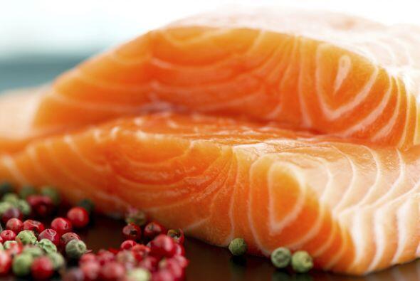 Salmón salvaje. Es una de las mejores fuentes de ácidos grasos Omega-3,...