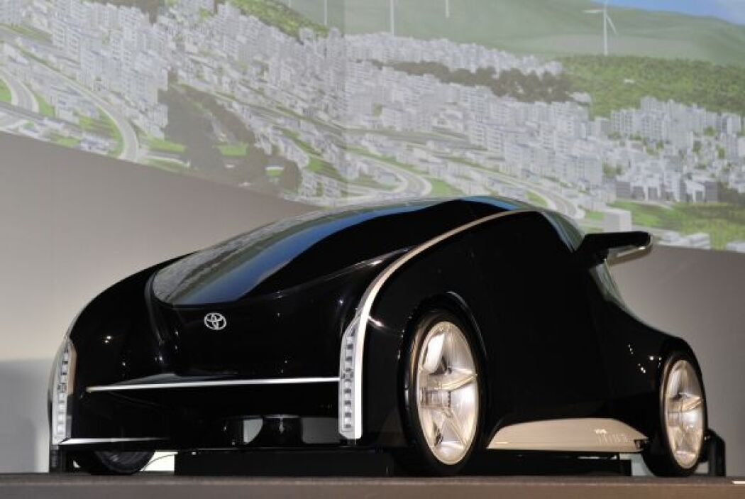 El Toyota Fun-Vii llega con un diseño futurista, aerodinámico y compacto...