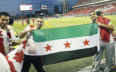 Refugiados sirios Toronto FC