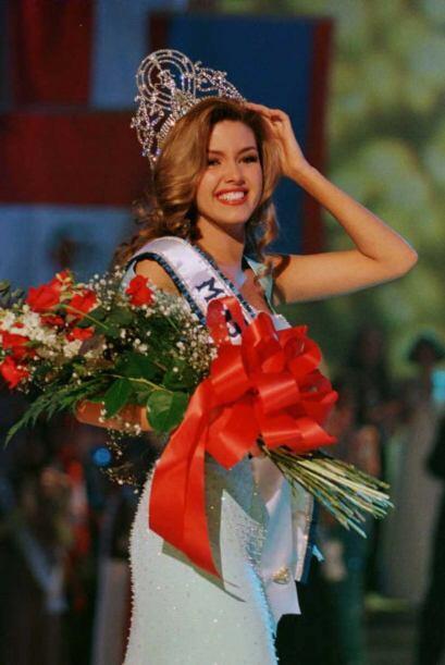 Su primer victoria la obtuvo al coronarse como la ganadora del certamen...