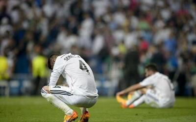 La eliminación del Real Madrid en las semifinales de la Champions League...