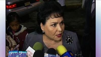 Carmen Salinas no se muerde la lengua cuando se trata de dar una opinión.