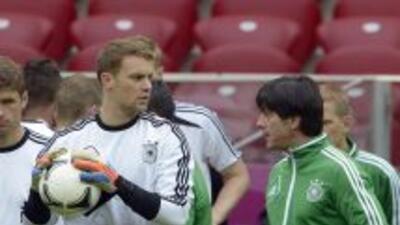 El entrenador de la 'Mannschaft' es optimista con las lesiones que han s...