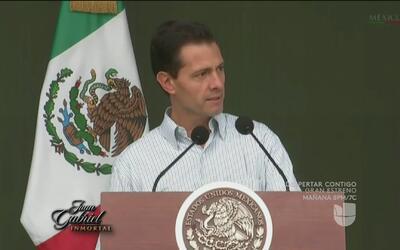 Enrique Peña Nieto dedicó unas palabras al Divo de Juárez