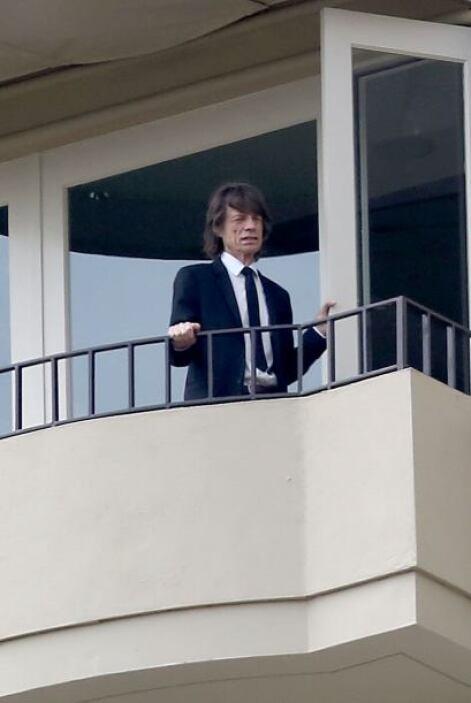 Se realizó el sepelio de la novia del cantante de los Rolling Stones.  A...