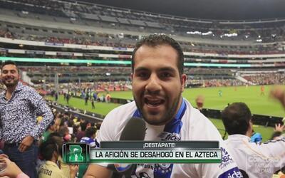 Destápate: La afición del Azteca se desahogó con las cámaras de Repúblic...