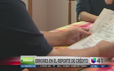 Errores en el historial de crédito