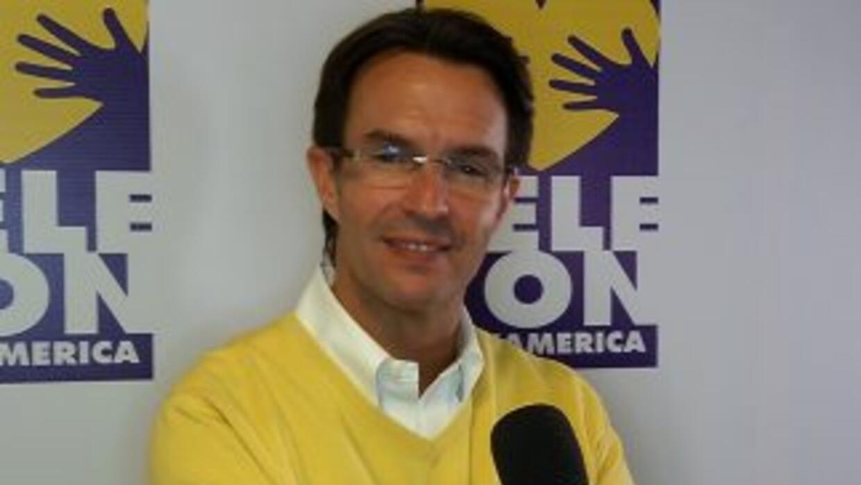 Fernando Landeros, presidente de la Fundación Teletón.