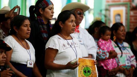El proceso de nombramiento de la mujer indígena aspirante a candidata a...